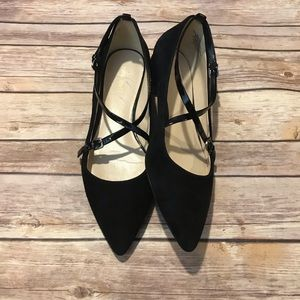Nine West Anastagia Suede Pointed Toe Flats